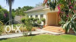 SRA42 3br semi furnished compound villa with private pool for rent