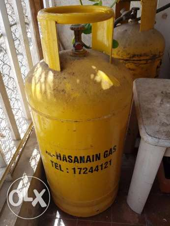 Gas cylinder with full gas for sale