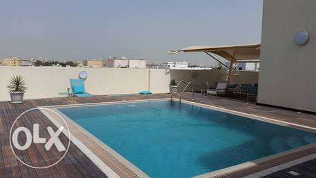 modern fully furnished apartment with private pool gym