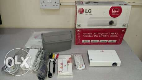 New LG projecter large screen USB/ HDMI home cinema theatre