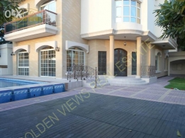 Hamala 5 BR semi furnished villa for rent with private pool,garde