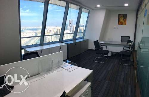 Full Fledged office at Bahrain World Trade Center BD.850/-All Inclusiv