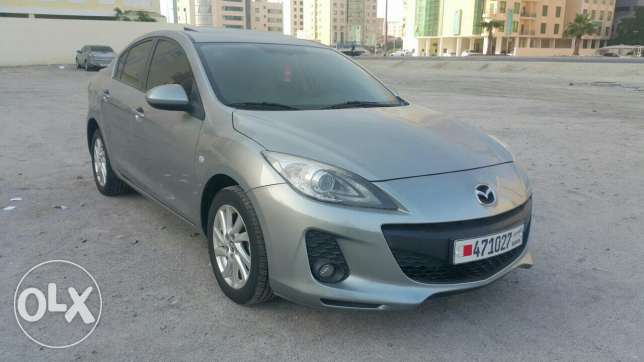 2014 mazda 3 full option with sunroof for sale