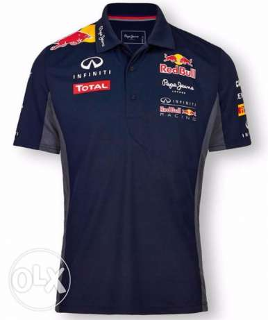 Red Bull Racing official F1 polo shirt