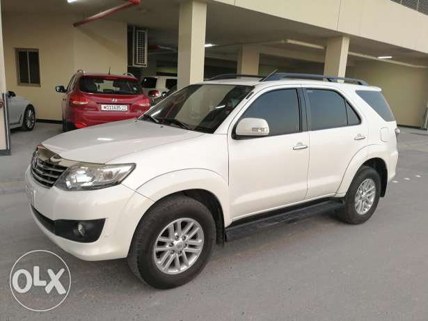 4x4 suv Toyota fortuner 2013 full option forsale or exchange