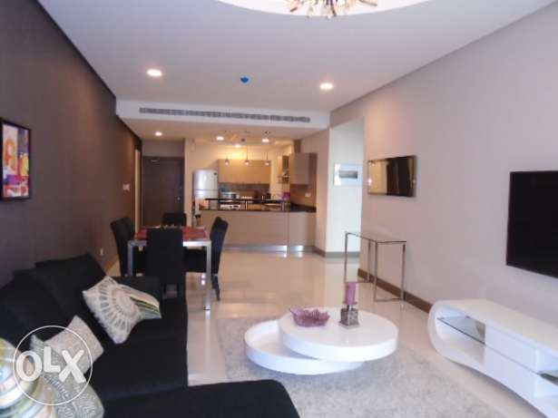 Brand new 2 bedroom flat for rent in Seef - easy access to Saudi