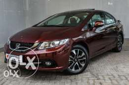 with sunroof Honda civic 2013