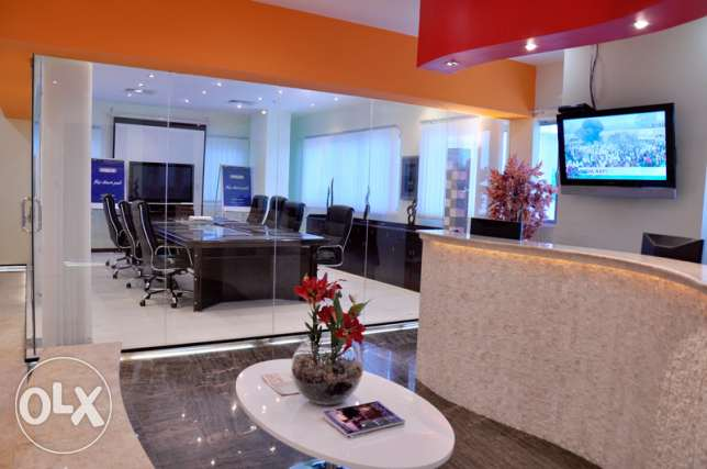Fully furnished beautiful offices for rent