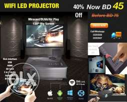 led projector wifi / miracast / dlna compatibile