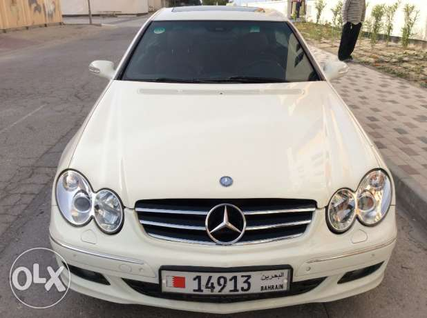 For Sale 2008 Mercedes Benz CLK200 Avantagarde Bahrain Agency
