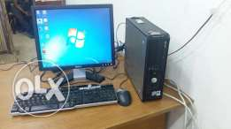 Dell computer set core 2 DUO PC / LCD monitor / keyboard, mouse / dvd