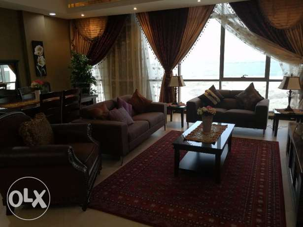 Beautiful,affordable fully furnished 3 bedrooms flat for rent juffair