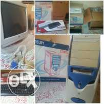 Forsale computer LG with case and keyboard
