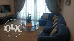 2 bedrooms apartment fully furnished in busaiteen