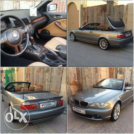 BMW e46 330ci model 2005 convertible