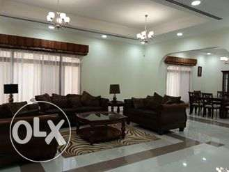 fully furnished compound villa with private pool close to KSA