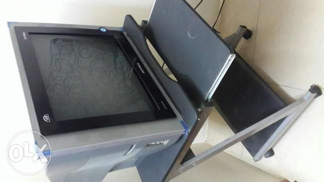Supra TV 20 inches with Computer table for BD 20