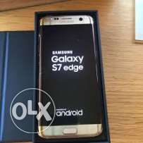 S7 Edge Gold One Week Used Like New