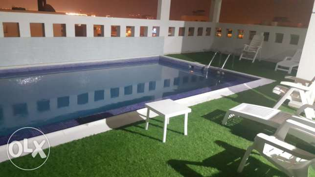 New hidd, 2 BHK swimming pool & balcony