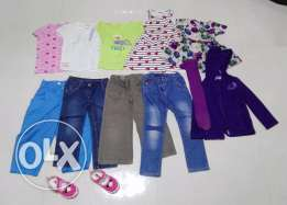 Girls clothes 2-3years (dresses, shirts, shoes)