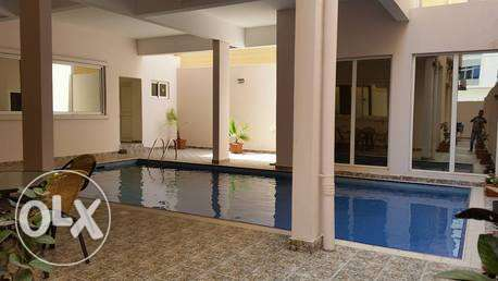 fully furnished apartment with pool gym saar