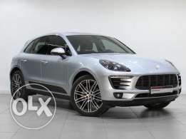 "Porsche Macan S 2015MY SIlver ""Approved"""