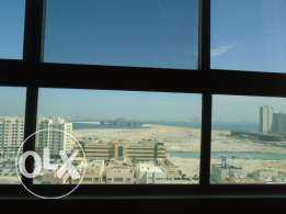 Sea view flat with balcony ready to move in in juffair bd450 per month