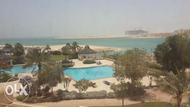 Fabulous 1bedroom apartment fully furnished facing Sea & pool views