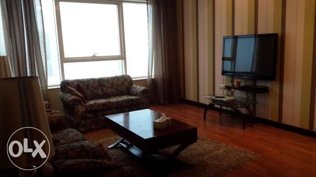 Luxurious 2 Bedrooms apartment fully furnished amazing Sea & city cent