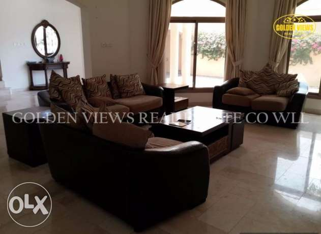 5 BR semi / fully furnished villa for rent with private pool,garden
