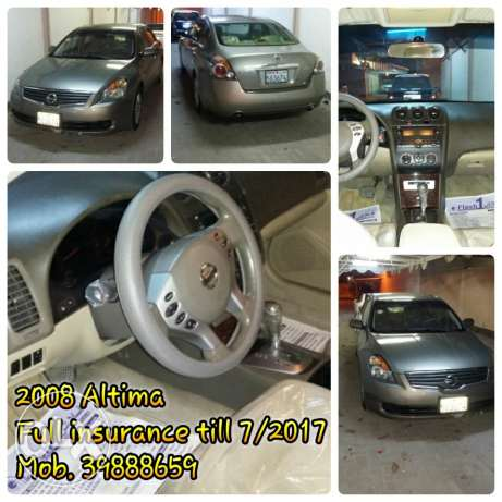 2008 Altima For Sale
