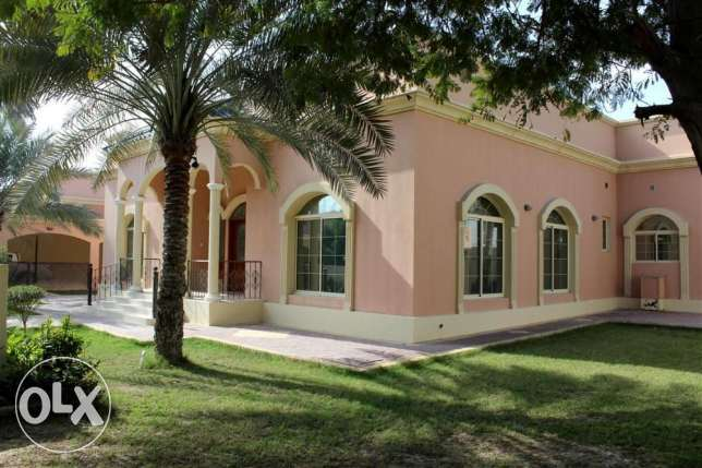 SRA78 4br Semi Furnished Villa For Rent In Saar Close To Saudi Cause W
