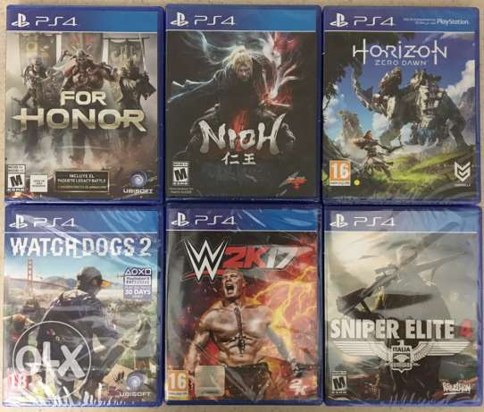 Ps4 new sealed games