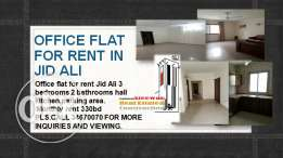 Office flat for rent in Jid ali