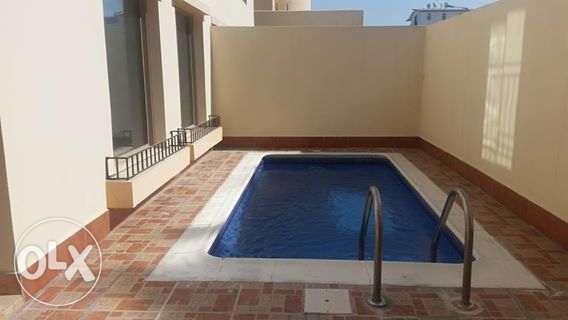 semi furnished villa with private pool close to causeway
