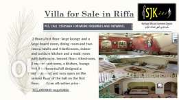 Villa for sale in East Riffa