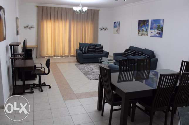 Beautiful flat 2 bedroom fully furnished for navy in Juffair