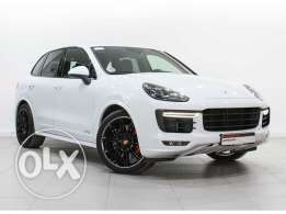 Cayenne GTS White (Porsche Approved)