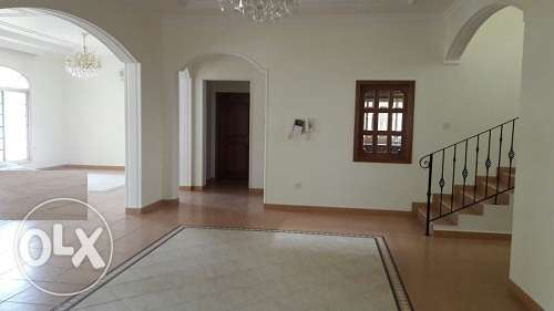Commercial 6 Br Semi Furn villa w/maids room & pool in Mahooz BD. 1800