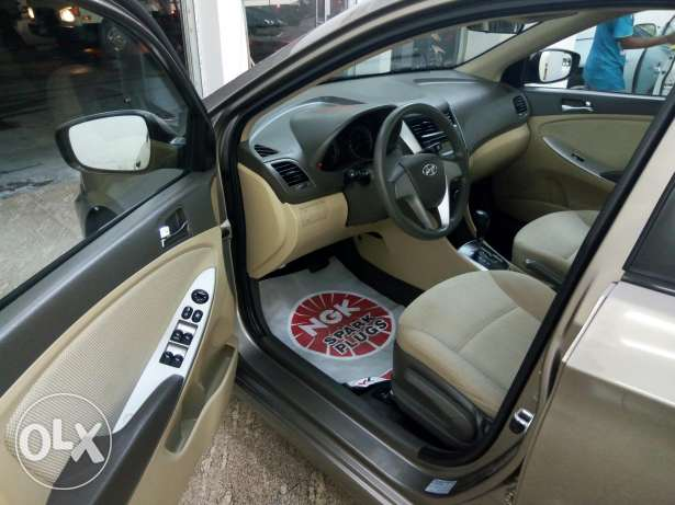 Accent 2015 only 10,000 km monthly installment available through Bank