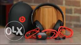 Selling Beats Studio Black and Red