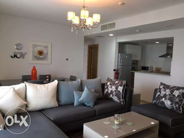 Classic Two Bedrooms Fully Furnished Apartment in Amwaj