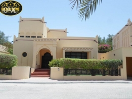 4 BR semi furnished modern villa with huge garden,pool,facility