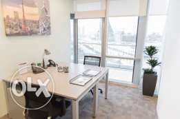 First-class furnished office in the heart of Manama