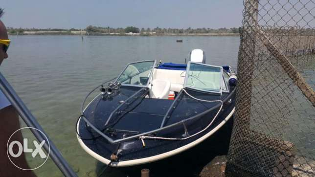 Boat for sale with 250hp outboard سترة -  1