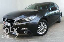 Mazda 3 2015 full option with sunroof