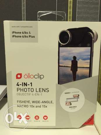 4-IN-1 olloclip photo lens for iPhone 6s