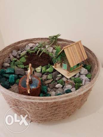 indoor miniature garden