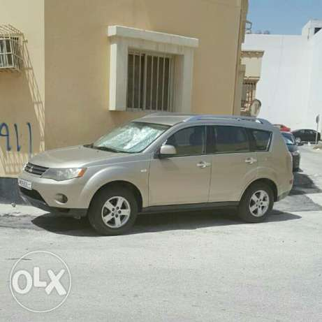 Mitsubishi Outlander model 2008-very low mileage-neat car for sale!!!