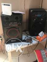party speakers with Aux, USB , SD card